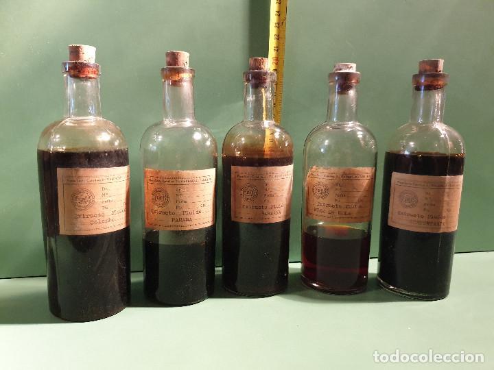 Antigüedades: FRASCOS ANTIGUOS DE FARMACIA - Foto 8 - 196189730