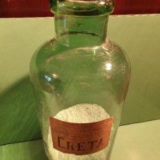 Antigüedades: FRASCO BOTE ANTIGUO DE FARMACIA. Lote 196191840