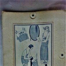 Antigüedades: PATRONES GRADUABLES MARTÍ .LENCERIA AÑOS 20. CUADERNO MODELOS,PATRONES,ETC.VER DESCRIPCIÓN. Lote 209193988