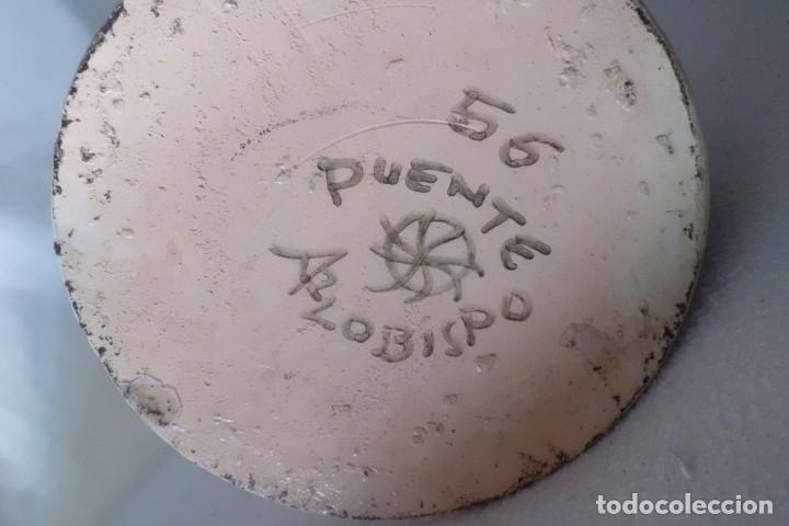 Antigüedades: JARRA GRANDE ANTIGUA PUENTE DEL ARZOBISPO - Foto 6 - 196224966