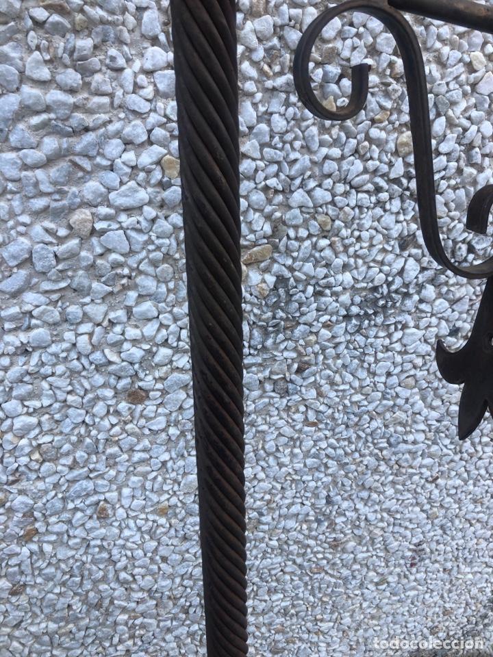 Antigüedades: Antorchas con portavelas - Foto 3 - 196244306