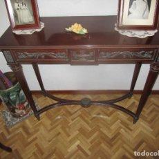 Antigüedades: CONSOLA Y ESPEJO . Lote 196258592
