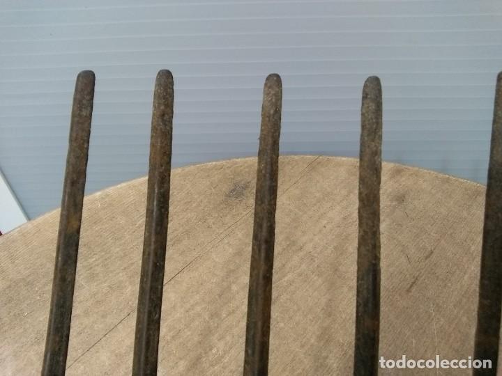Antigüedades: Antigua horca de 9 puntas - Foto 4 - 195812248