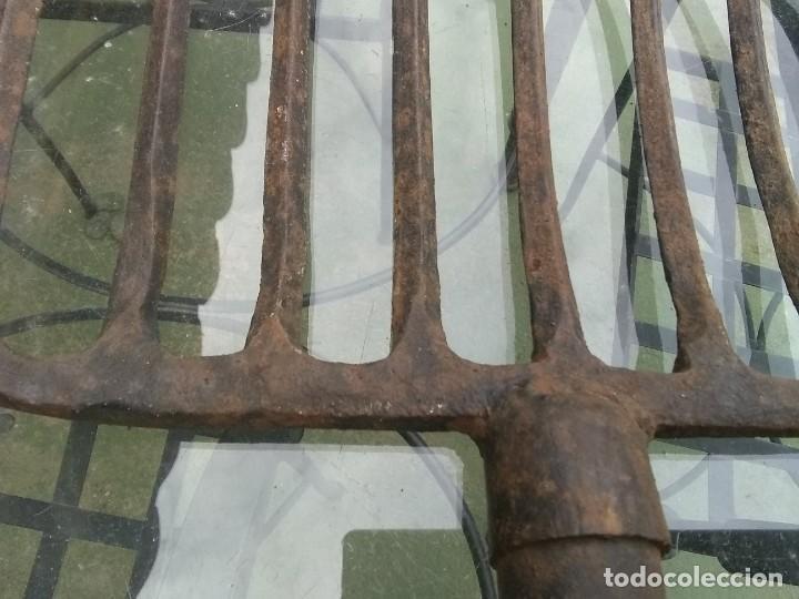Antigüedades: Antigua horca de 9 puntas - Foto 10 - 195812248