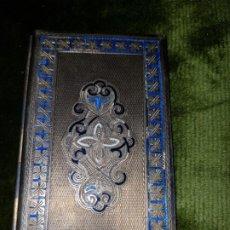 Antigüedades: EXTERIOR DE CUADERNO DE BAILE.PLATA. Lote 196278735