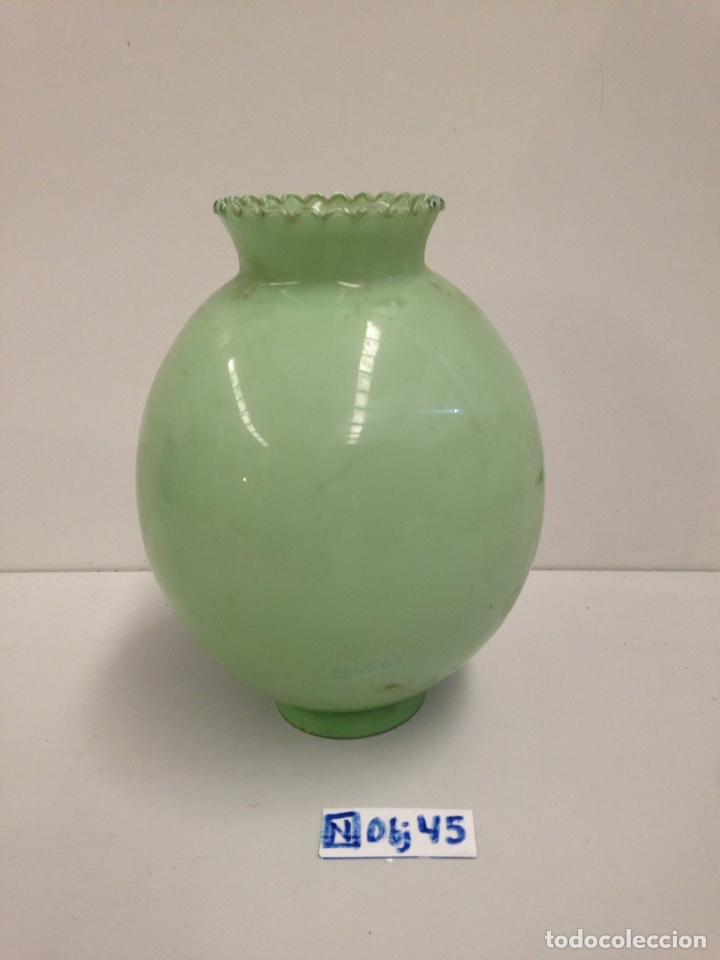 TULIPA DE CRISTAL OPALINA (Antigüedades - Cristal y Vidrio - Otros)