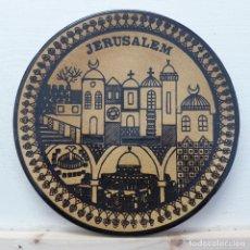 Antigüedades: PLATO JERUSALEM - JERUSALEN. Lote 196359061