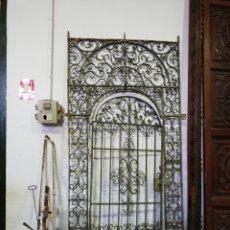 Antigüedades: CANCELA DE HIERRO FORJADO. Lote 196453235