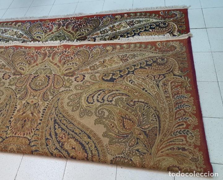 Antigüedades: Alfombra de lana de 2,45 x 3,10 m. - Foto 2 - 195081750