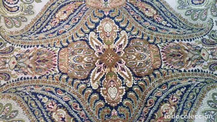 Antigüedades: Alfombra de lana de 2,45 x 3,10 m. - Foto 3 - 195081750