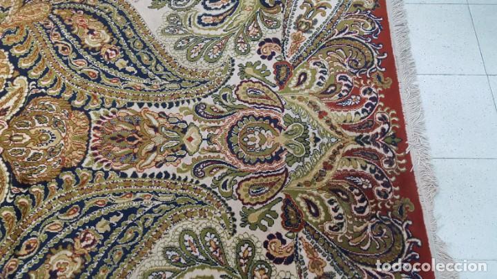 Antigüedades: Alfombra de lana de 2,45 x 3,10 m. - Foto 4 - 195081750