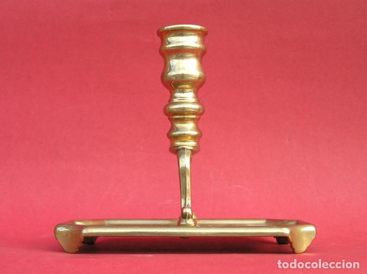 Antigüedades: Candelero de escritorio. Réplica fiel de un diseño del siglo XVIII. - Foto 2 - 196517336