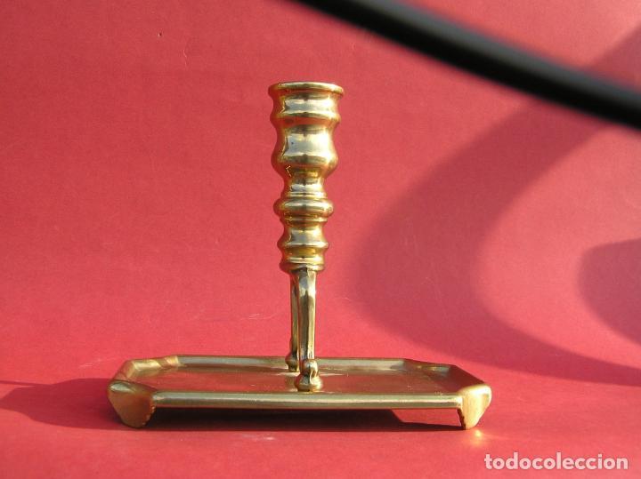 Antigüedades: Candelero de escritorio. Réplica fiel de un diseño del siglo XVIII. - Foto 3 - 196517336