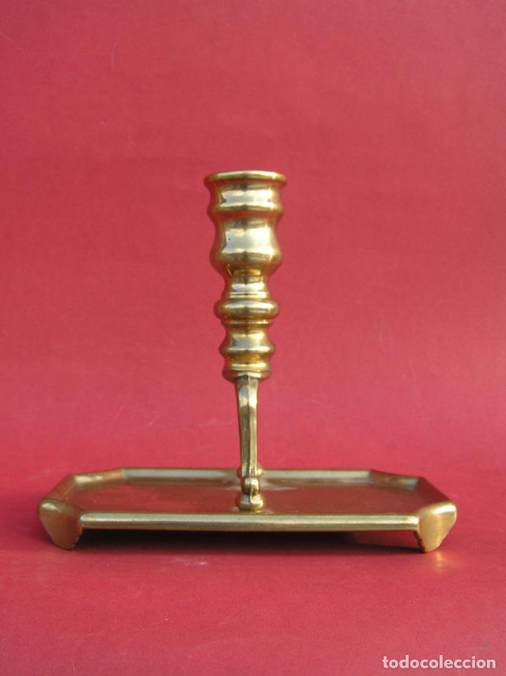 Antigüedades: Candelero de escritorio. Réplica fiel de un diseño del siglo XVIII. - Foto 4 - 196517336