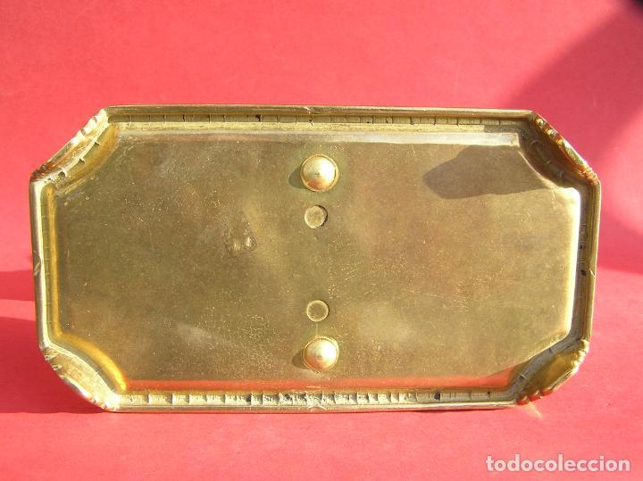 Antigüedades: Candelero de escritorio. Réplica fiel de un diseño del siglo XVIII. - Foto 10 - 196517336
