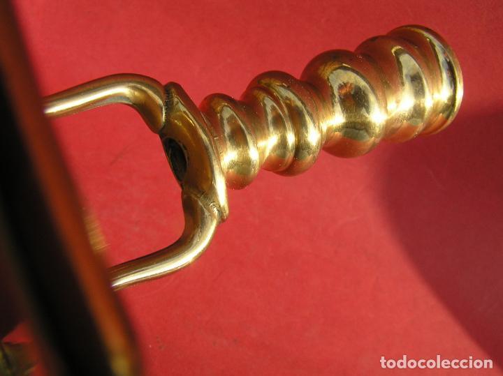 Antigüedades: Candelero de escritorio. Réplica fiel de un diseño del siglo XVIII. - Foto 11 - 196517336