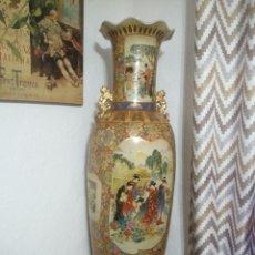 Antigüedades: ENORME JARRON PORCELANA CHINA 133 CM. Lote 195464267