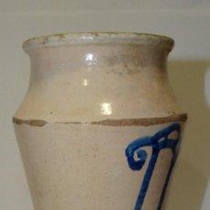 Antigüedades: ALBARELO ,TARRO DE FARMACIA DE TERUEL,FINALES S. XVII-XVIII. Lote 196533305
