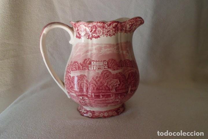 ESPECTACULAR LECHERA SIGLO XIX, MARCA ANTIGUA DE INGLATERRA (Antigüedades - Porcelanas y Cerámicas - Inglesa, Bristol y Otros)