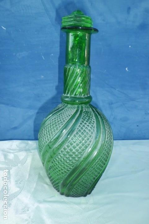 ESPECTACULAR LICORERA FRANCESA FINALES SIGLO XIX (Antigüedades - Cristal y Vidrio - Baccarat )