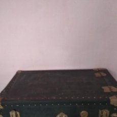 Antigüedades: BAÚL ANTIGUO EXERCIO. Lote 196548513