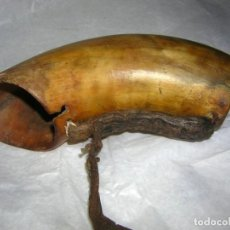 Antigüedades: COLODRA CUERNA PASTORIL S. XIX / XX. Lote 196551708