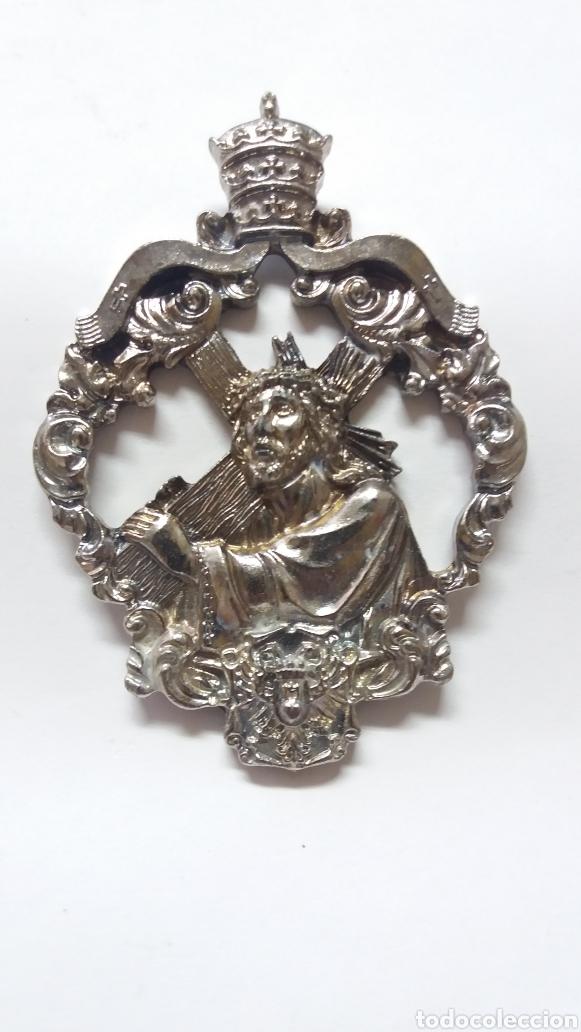 MEDALLA HDAD NTRO PADRE JESUS NAZARENO, MIGUEL ESTEBAN TOLEDO (Antigüedades - Religiosas - Medallas Antiguas)