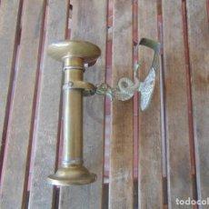 Antigüedades: QUINQUE QUINQUES FAROL DE BARCO ,PENDULAR EN BRONCE . Lote 196608197