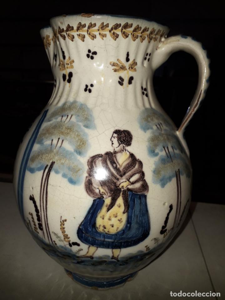 Antigüedades: PRECIOSA JARRA DE TALAVERA - Foto 2 - 196626667