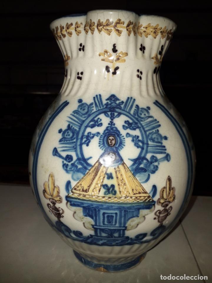 Antigüedades: PRECIOSA JARRA DE TALAVERA - Foto 3 - 196626667