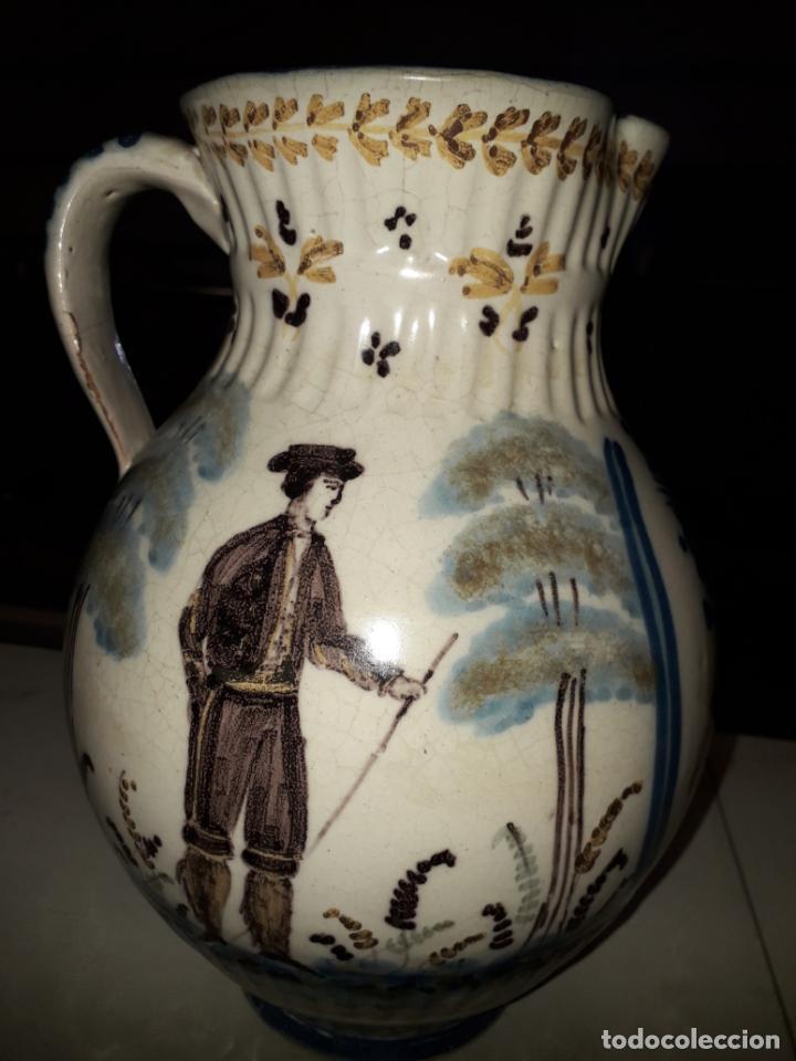 PRECIOSA JARRA DE TALAVERA (Antigüedades - Porcelanas y Cerámicas - Talavera)