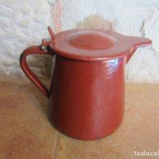 Antiquités: LECHERA PEQUEÑA ESMALTADA. Lote 196640773