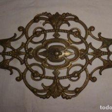 Antigüedades: ADORNO DE BRONCE. Lote 196651922