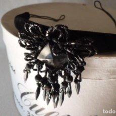 Antigüedades: ESPECTACULAR SOMBRERO O TOCADO, 1.920. Lote 196652382