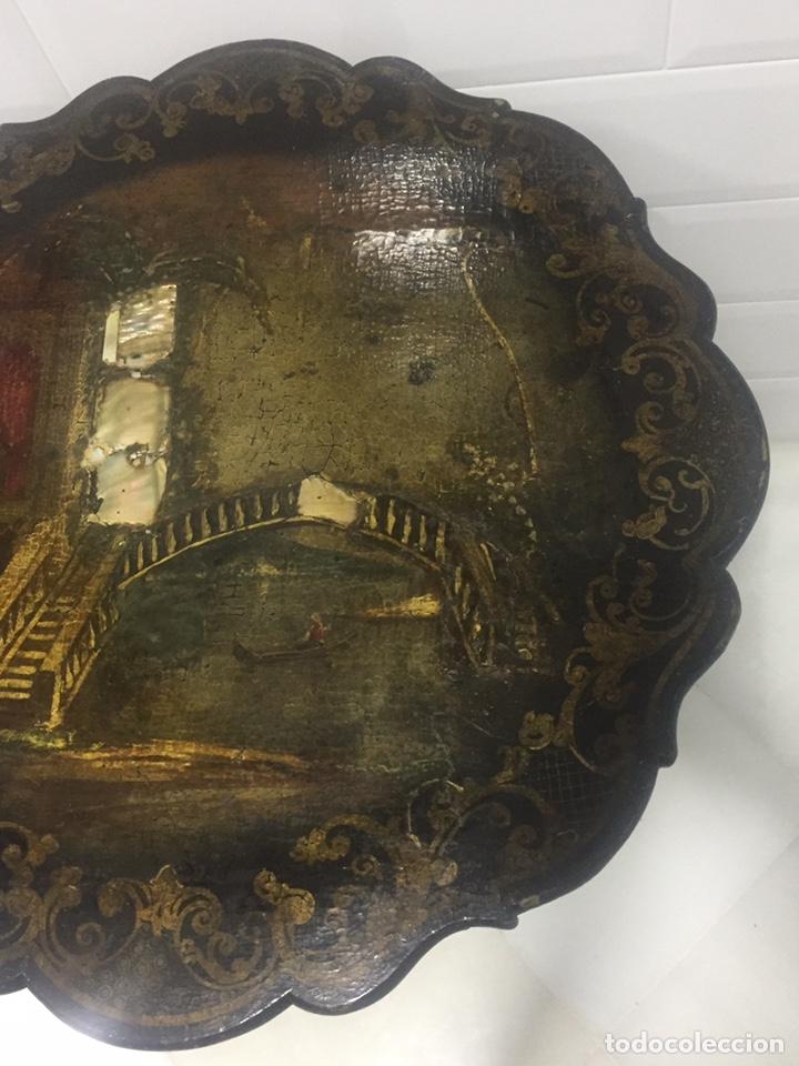 Antigüedades: ANTIGUA MESA VELADOR ESTILO ISABELINO FINALES DEL SIGLO XVIII - Foto 6 - 162466446
