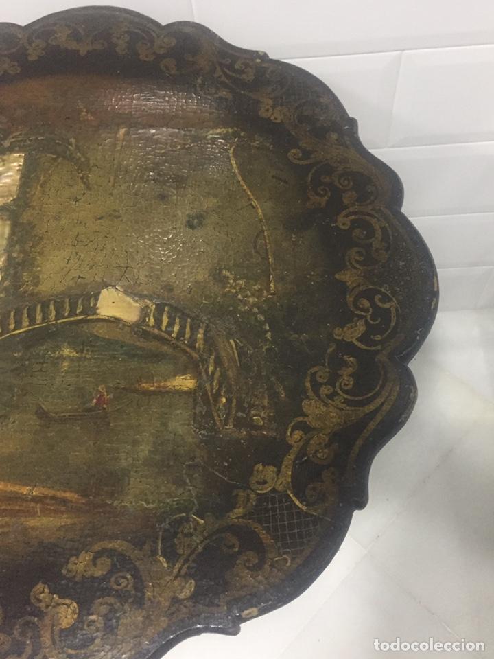 Antigüedades: ANTIGUA MESA VELADOR ESTILO ISABELINO FINALES DEL SIGLO XVIII - Foto 12 - 162466446