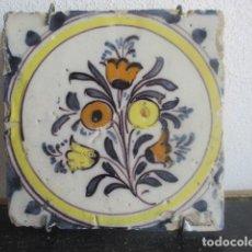 Antigüedades: AZULEJO TRIANA SIGLO XVIII. Lote 196762358
