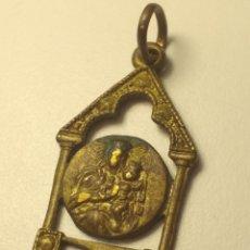 Antigüedades: BONITA Y PEQUEÑA MEDALLA RELIGIOSA. Lote 196767413
