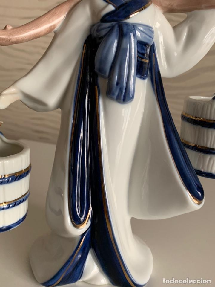 Antigüedades: GHEISA Porteando Cubos. 21 cm. Perfecta. - Foto 3 - 196772232