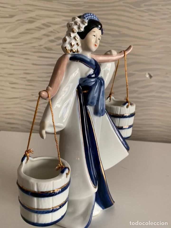 Antigüedades: GHEISA Porteando Cubos. 21 cm. Perfecta. - Foto 4 - 196772232