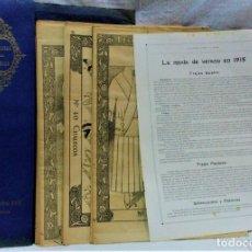 Antigüedades: ACADÉMIA CENTRAL MARTÍ.CORTE PARISIEN.LECCIONES SOBRE LA MODA.MODA DE VERANO EN 1915. Lote 216481512