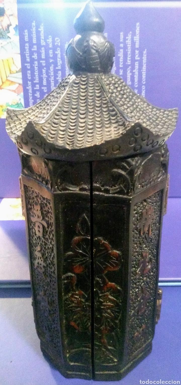 Antigüedades: Tríptico Altar Budista Plegable Tibetano - Foto 13 - 196786800