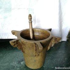 Antigüedades: MORTERO CON COSTILLAS . Lote 196812640