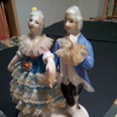Antigüedades: * FIGURAS DE PORCELANA. (RF: GV/B). Lote 207054335