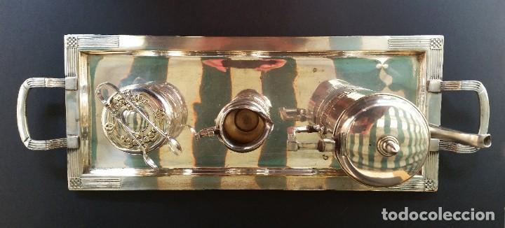 Antigüedades: Juego de café judgenstil, 5 piezas - Foto 2 - 196978790