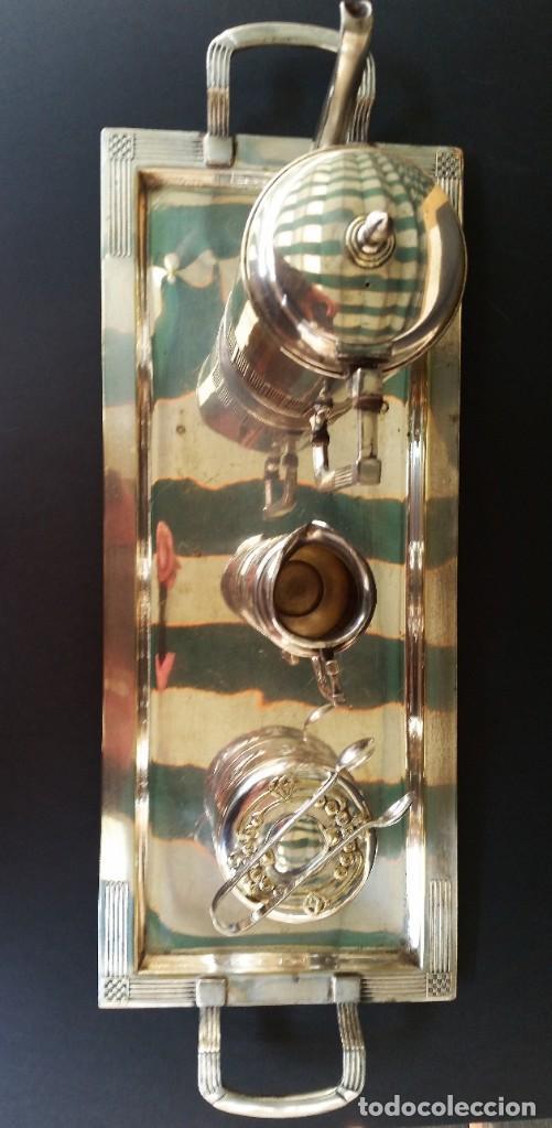 Antigüedades: Juego de café judgenstil, 5 piezas - Foto 3 - 196978790