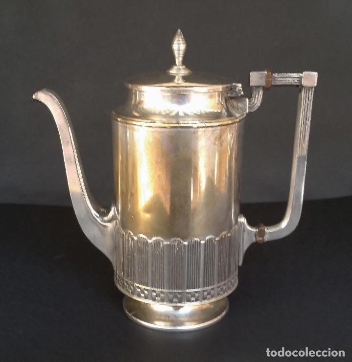 Antigüedades: Juego de café judgenstil, 5 piezas - Foto 8 - 196978790