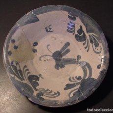 Oggetti Antichi: PLATO – CUENCO CERÁMICA ARAGONESA DE MUEL XVIII . Lote 196985148
