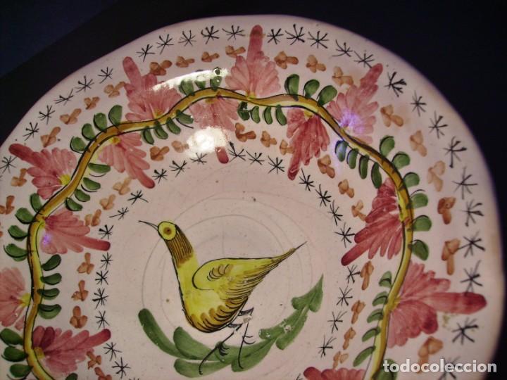 Antigüedades: GRAN Y ROTUNDO FRUTERO CERÁMICA DE MANISES XX - Foto 7 - 196985547