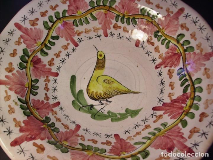 Antigüedades: GRAN Y ROTUNDO FRUTERO CERÁMICA DE MANISES XX - Foto 9 - 196985547